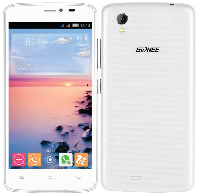 Gionee CTRL V4S with 4.5 inch screen launched in India for Rs. 9,999