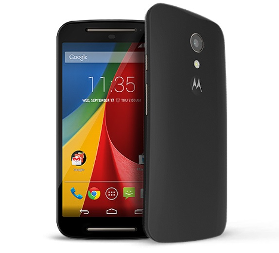 New Motorola Moto G 2nd Generation with 5 inch HD screen announced at $179.99