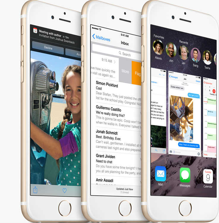 Apple iPhone 6 and iPhone 6 Plus with Retina HD screen announced