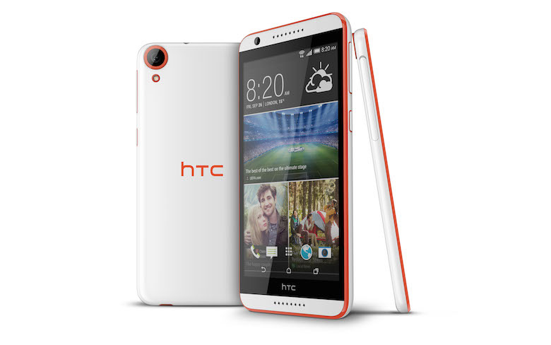 HTC Desire 820 with 5.5 inch screen, 64 bit processor announced