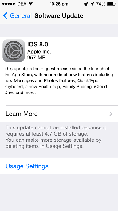 Apple releases iOS 8 for compatible iPhone, iPad and iPod Touch