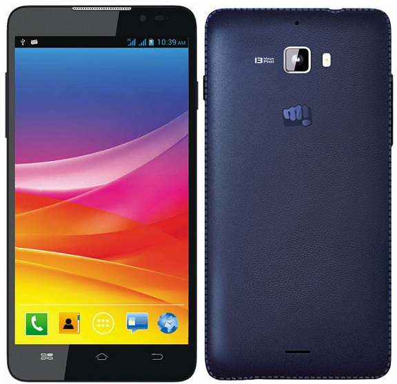 Micromax Canvas Nitro A310 with 5 inch screen launched for Rs. 12,990