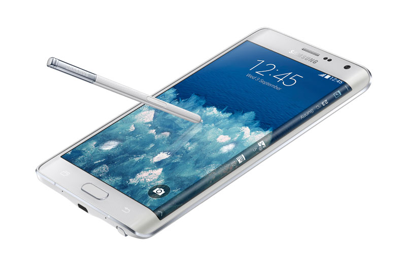 Samsung Galaxy Note Edge with 5.6 inch QHD curved display announced