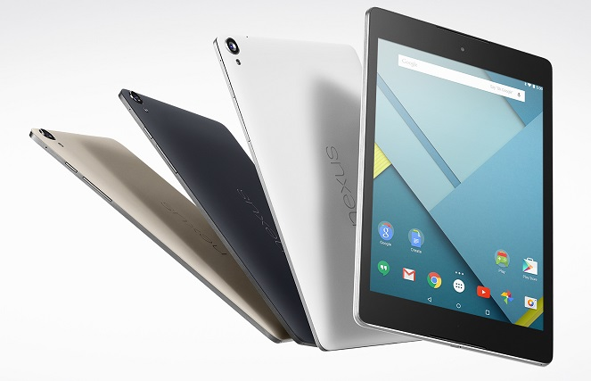 HTC manufactured Google Nexus 9 tablet with 64 bit processor announced