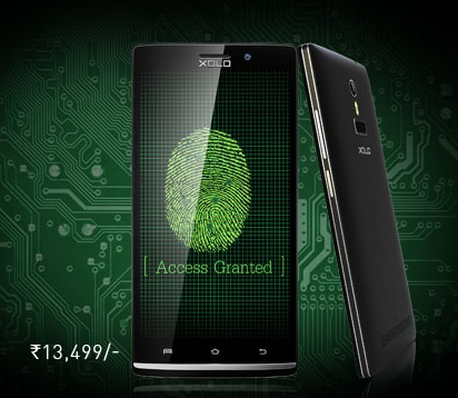 Xolo Q2100 with fingerprint sensor launched in India for Rs. 13,499