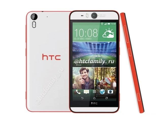 HTC Desire Eye and One (M8 Eye) Selfie smartphones several images leaked