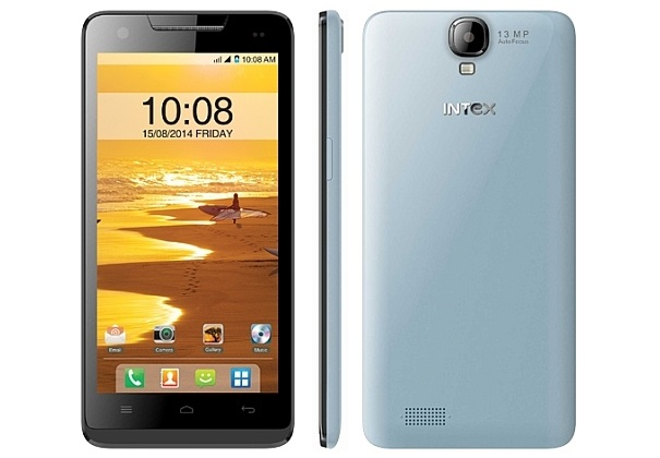 Intex Aqua Amaze with 5 inch screen launched in India for Rs. 10,690