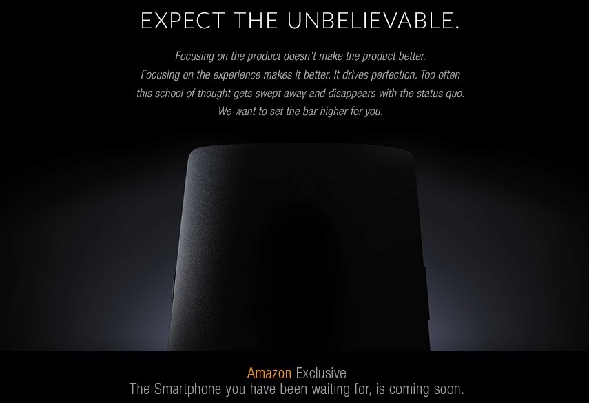 Amazon India Teases Exclusive launch of OnePlus One in India