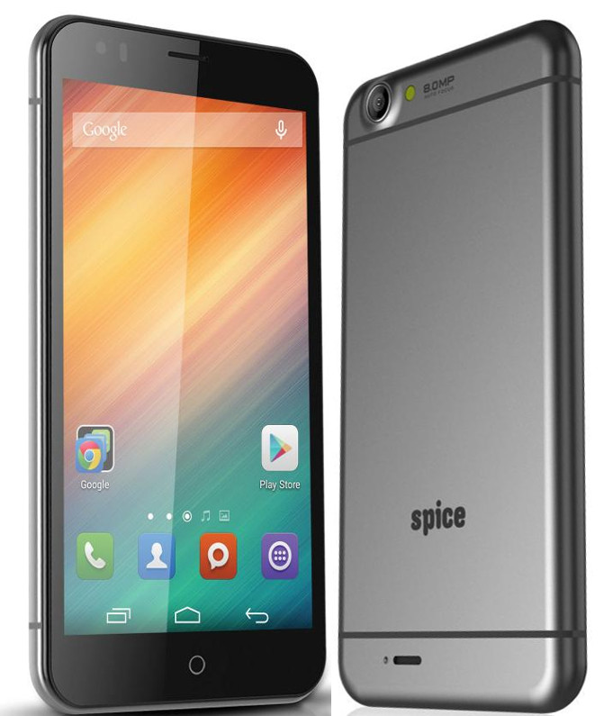 Spice Mi-549 with 5.5 inch FHD screen listed online for Rs. 7,999
