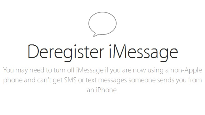 Apple now allows you to deregister your phone number from iMessage