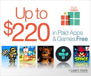 This Christmas Amazon App Store giving Apps and Games worth $220 for free