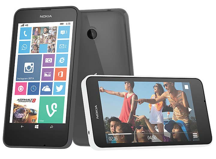Nokia Lumia 638 with 4G LTE launched in India for Rs. 8,299