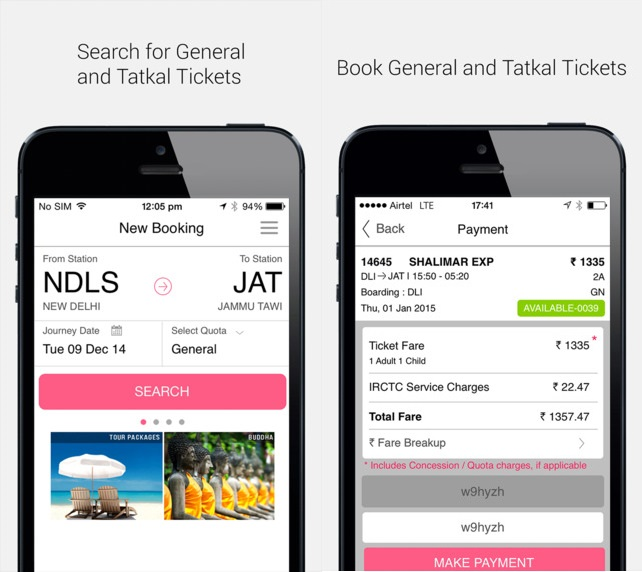 Official IRCTC connect app released for iPhone and iPad