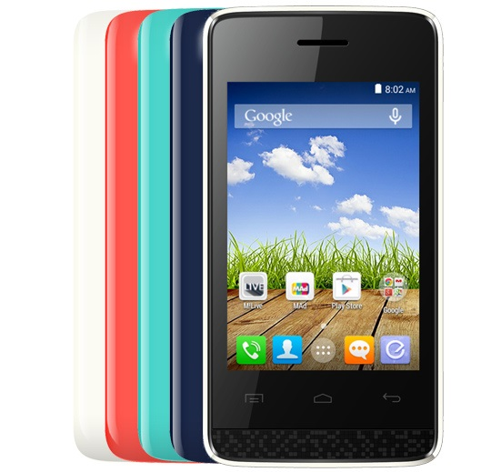 Micromax Bolt A066 with 3.5 inch screen listed on official website
