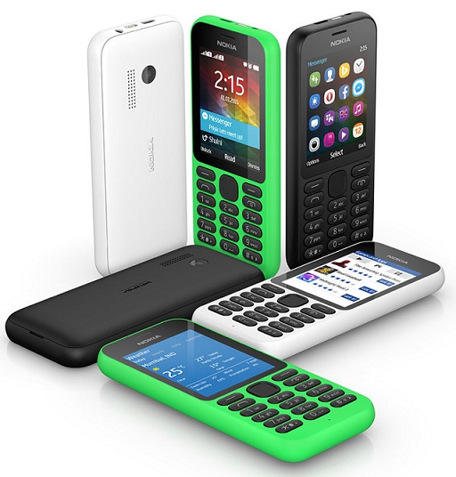 Nokia 215 and Nokia 215 Dual Sim cheapest Internet phone announced