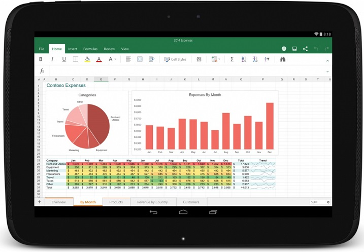 Microsoft releases Office for Android tablets and Outlook for iOS  and Android