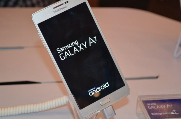 Samsung launches its thinnest metal clad Galaxy A7 SM-A700F smartphone