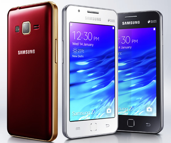 Samsung Z1 SM-Z130H running on Tizen OS launched for Rs. 5,700