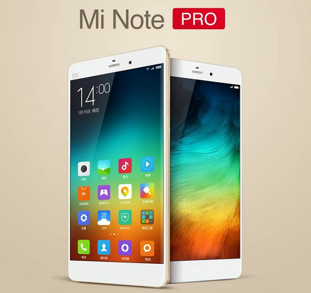 Xiaomi Mi Note Pro with 5.7 inch QHD screen, Octa core SoC announced