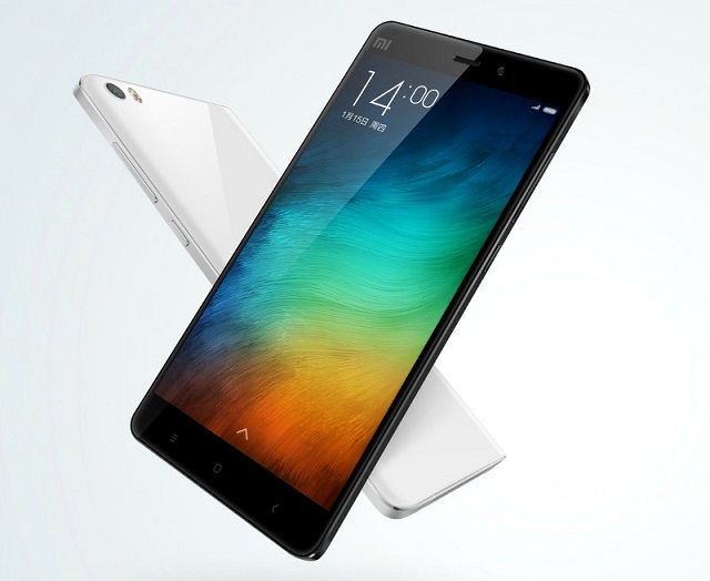 Xiaomi Mi Note with 5.7 inch screen, Snapdragon 801 SoC announced