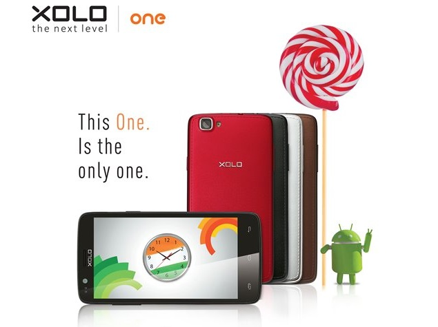 Android 5.0 Lollipop update for Xolo One starts rolling out