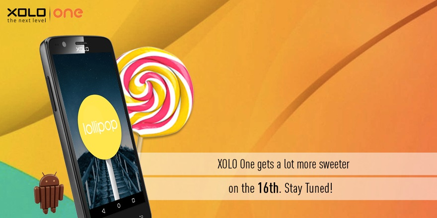 Xolo One to get Android 5.0 Lollipop update on 16 January