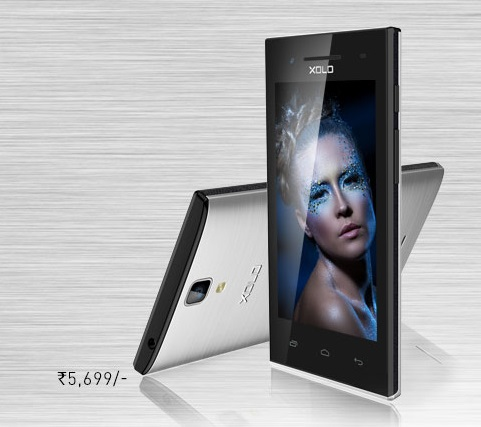 Xolo Q520s with 4 inch screen launched in India for Rs. 5,699