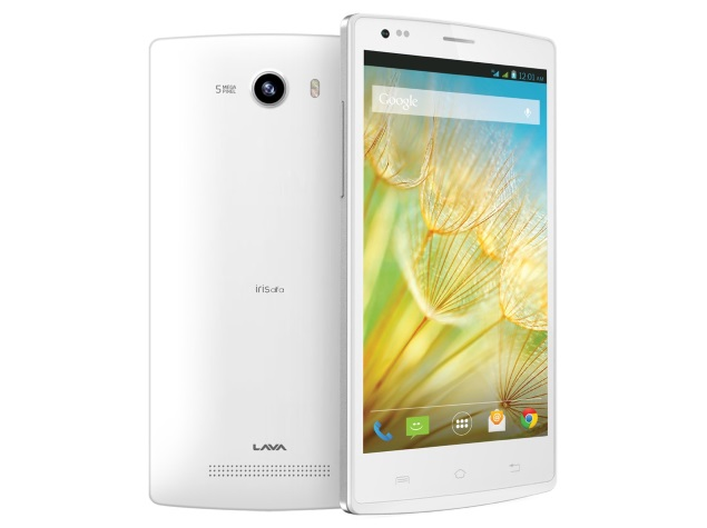 Lava Iris Alfa with 5 inch screen launched in India for Rs. 6,550