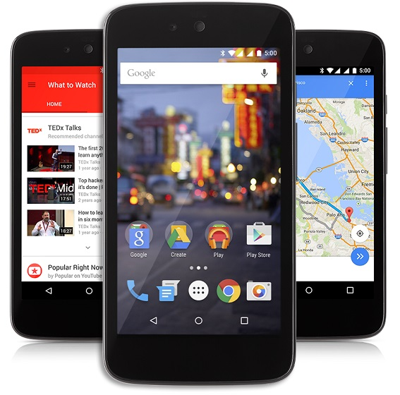 Android One devices running on Android 5.1 Lollipop launched in Indonesia