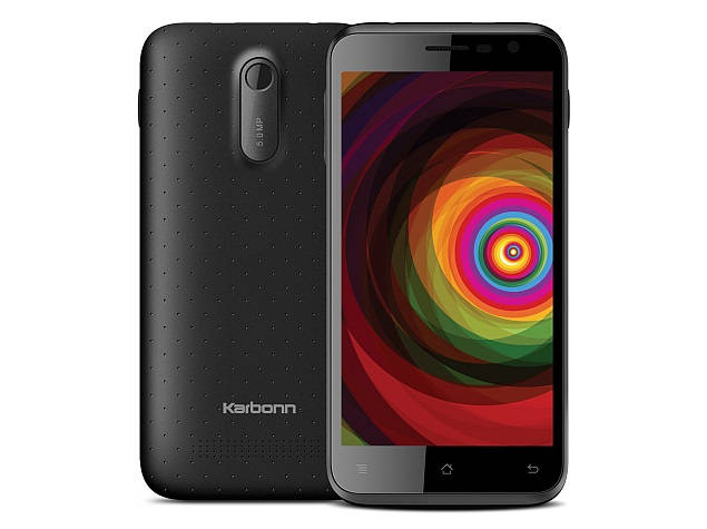 Karbonn Titanium Dazzle S201 with 5 inch screen, 21 languages support launched
