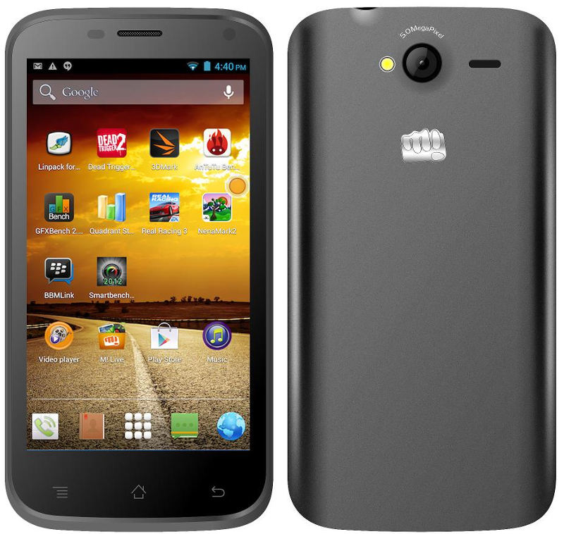 Micromax Bolt A82 with 5 inch screen launched in India for Rs. 5,499