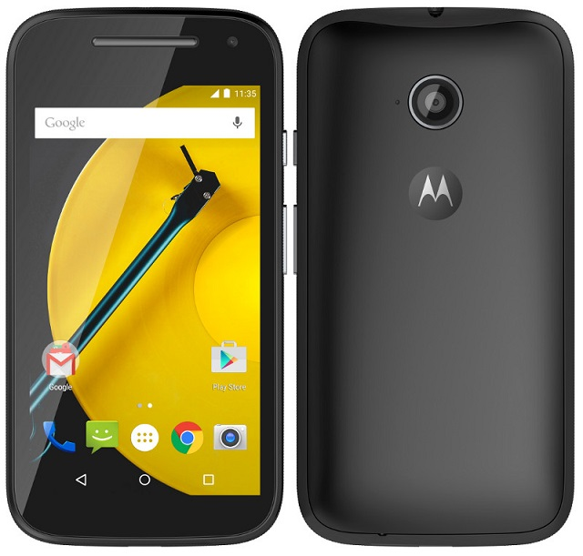Motorola Moto E (2nd Generation) 3G coming soon to India for Rs. 6,999