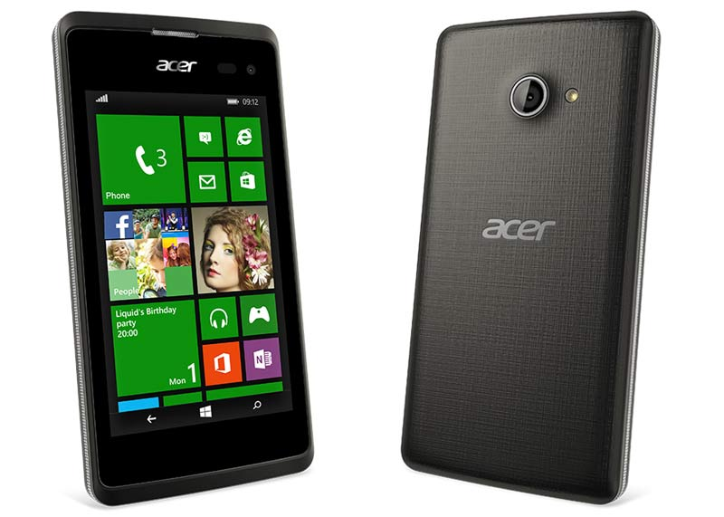 Acer Liquid M220 with 4 inch screen and Windows 8.1 announced