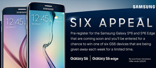 Samsung to live stream Galaxy S6 and Galaxy S6 Edge Unpacked event