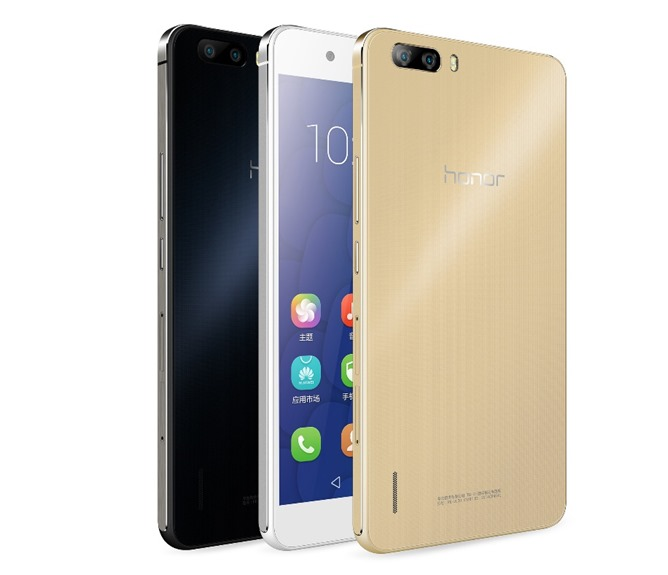 Huawei Honor 6 Plus in Gold color coming soon to India for Rs. 27,499