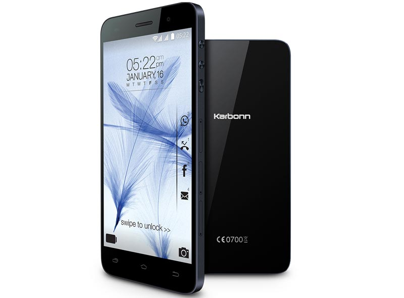Karbonn Titanium Mach Two officially launched in India