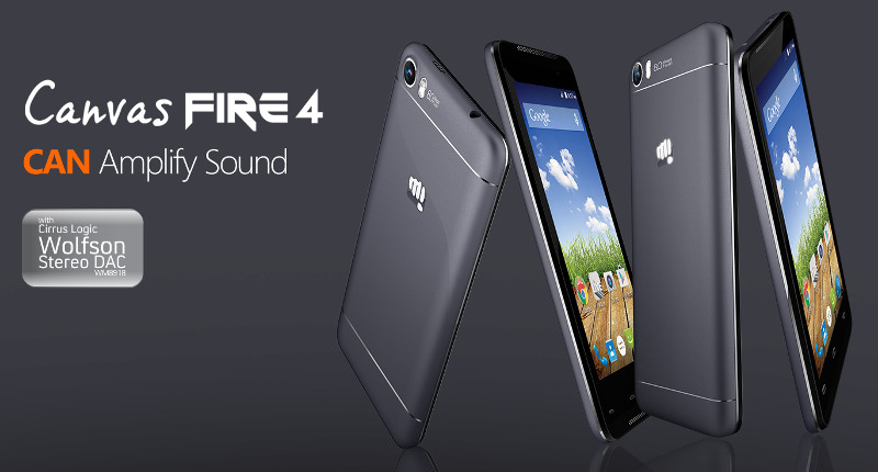 Micromax Canvas Fire 4 A107 running on Android Lollipop unveiled at Rs. 6,999