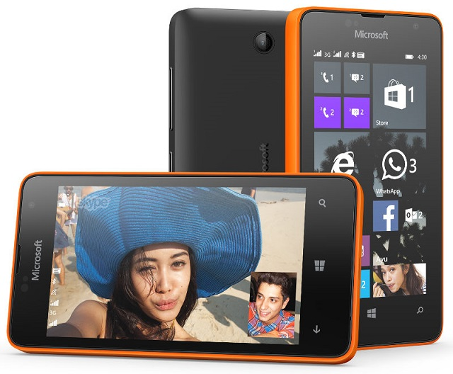 Microsoft Lumia 430 Dual Sim with 4 inch screen announced at $70