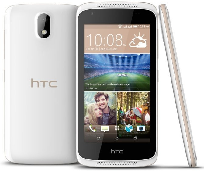 HTC Desire 326G with 4.5 inch screen announced in India