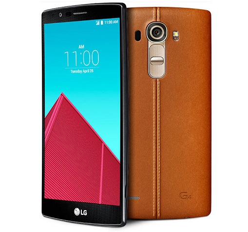LG G4 Dual D818N with leather back panel available online in India for Rs. 49,999