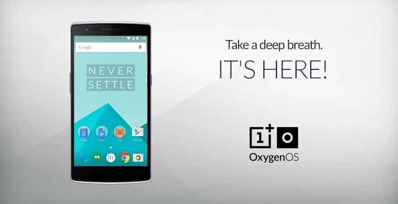 OxygenOS based on Android 5.0.2 Lollipop released for OnePlus One