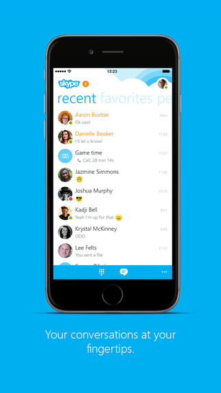Skype for iOS gains Hindi and other languages support