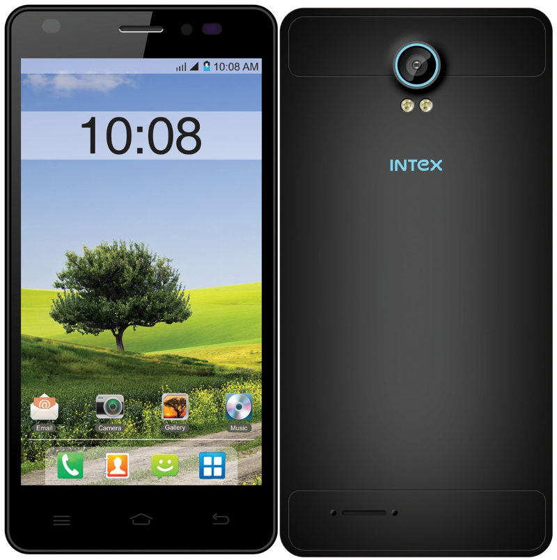 Intex Cloud M5 II with 5 inch screen, 1GB RAM launched in India for Rs. 4,799