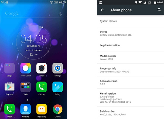 Lenovo Vibe Z2 Pro users in India starts getting Android 5 Lollipop OTA update
