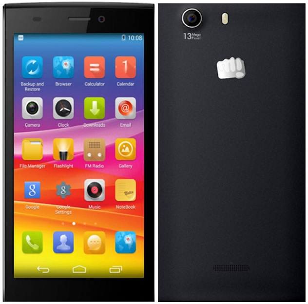 Micromax Canvas Nitro 2 with 5 inch screen now available in India for Rs. 10,199