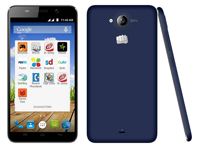 Micromax Canvas Play Q355 with 5.5 inch screen announced in India for Rs. 7,380