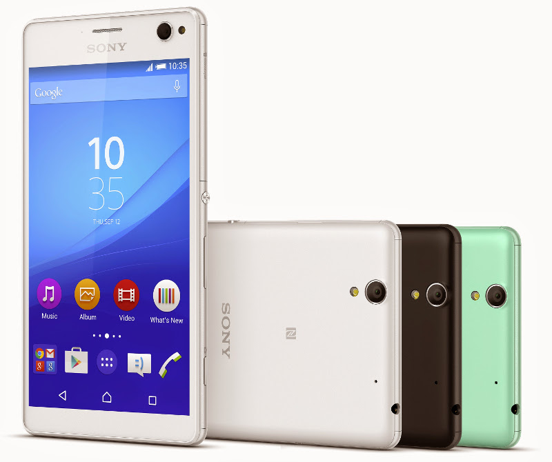 Sony Xperia C4 and Xperia C4 Dual with 5 Megapixel front camera launched