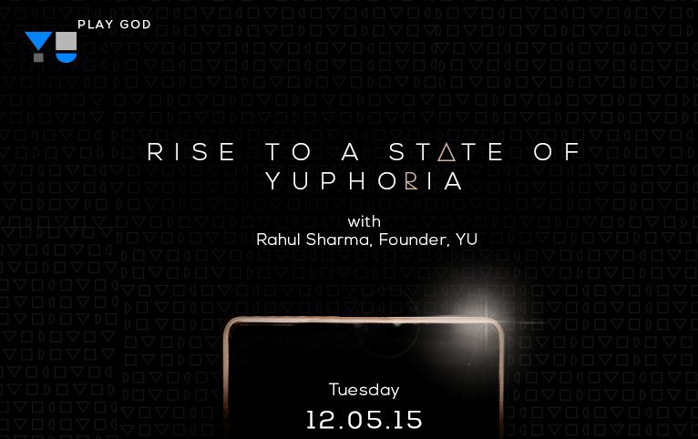 Yu to live stream the Yu Yuphoria launch event