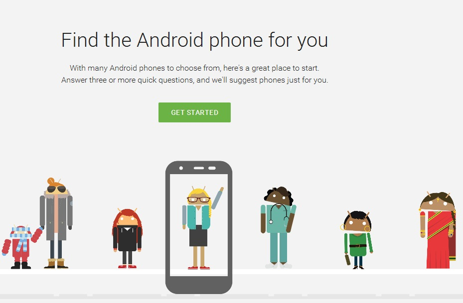 "Google unveils 'Which Phone"" tool which helps in finding perfect Android smartphone"