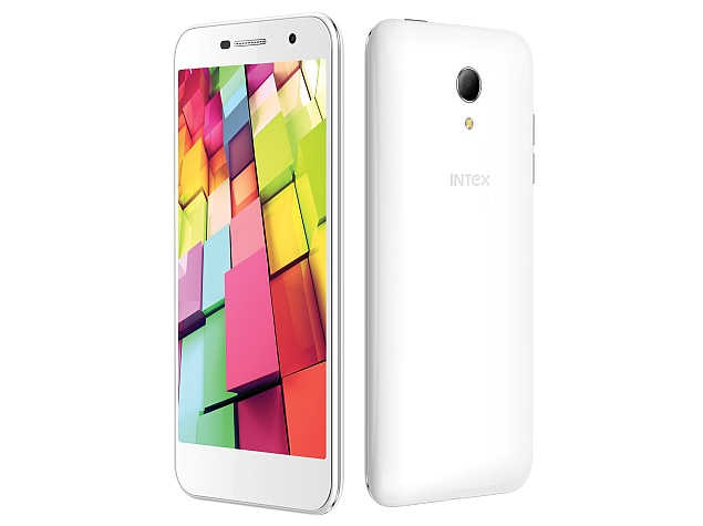 Intex Aqua 4G+ with 5 inch screen, Android Lollipop launched at Rs. 9499